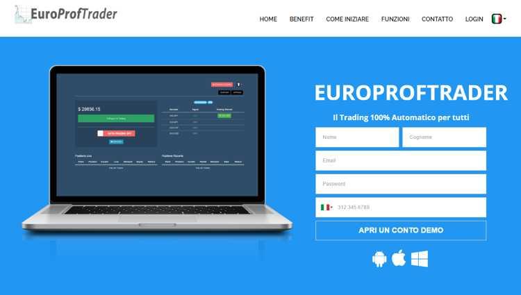 sistema automatico per trading