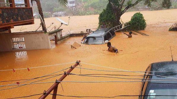 alluvione in sierra leone