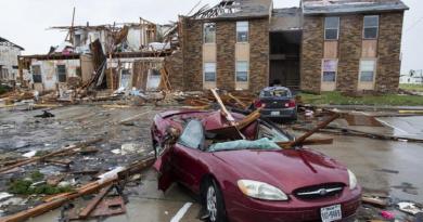 uragano in texas