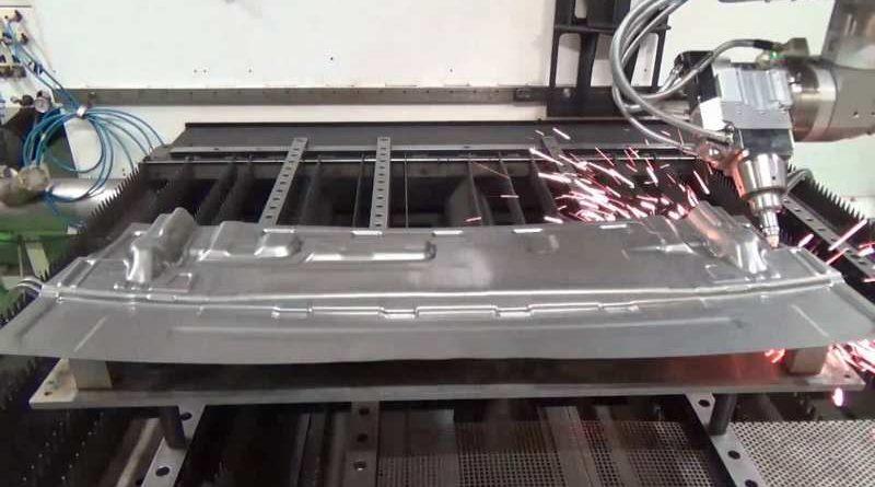 sviluppo del laser fibra